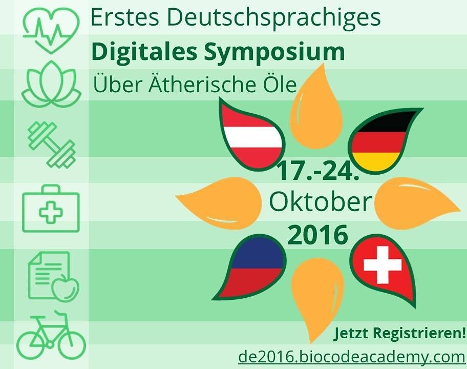 Digitales Symposium über ätherische Öle